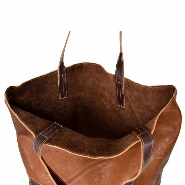 Leder Handtasche Shopper