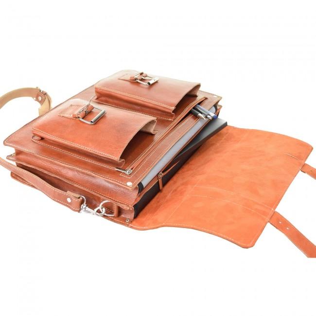 Lehrertasche Leder Aktentasche