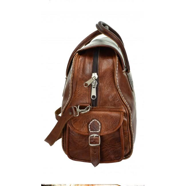 Reisetasche Naturleder